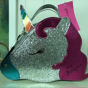 BETSEY JOHNSON Unicorn Insulated Lunch Bag